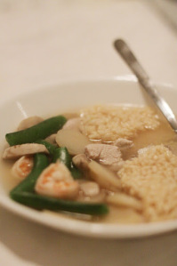 Carla's Soup Recipe: Chinese Sizzling Rice Soup