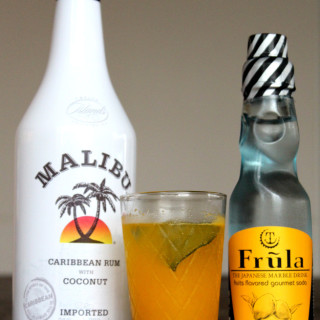 Mango-Coconut Cocktail