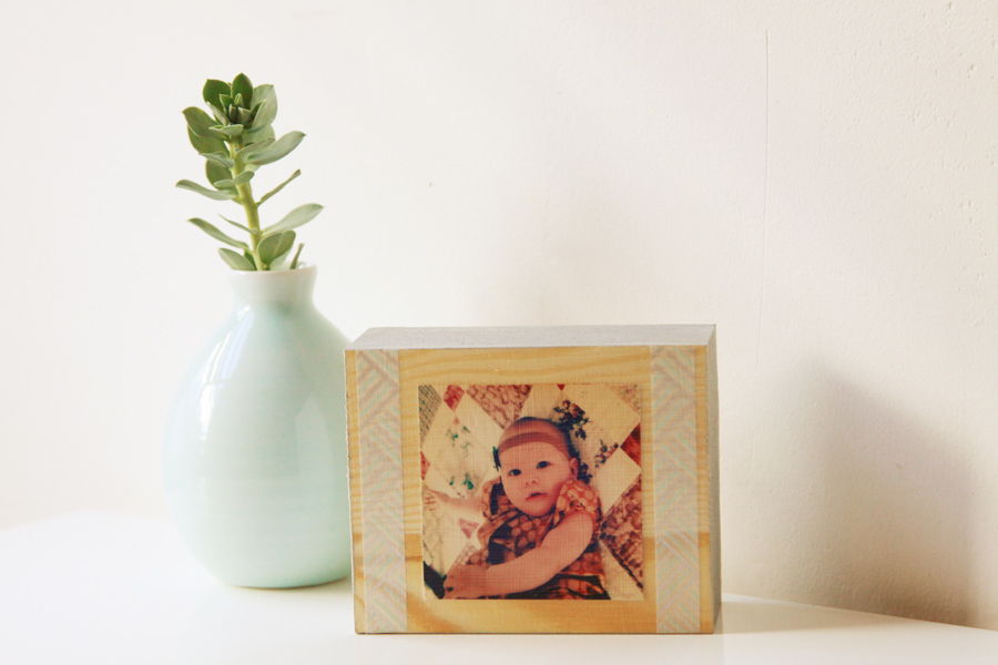 Wooden Block Frames (5)