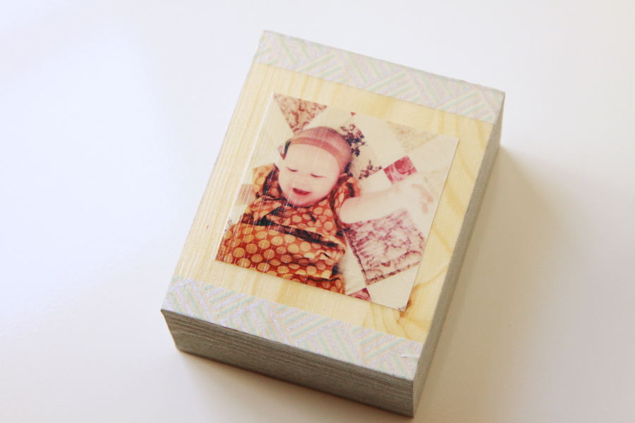 Wooden Block Frames (6)