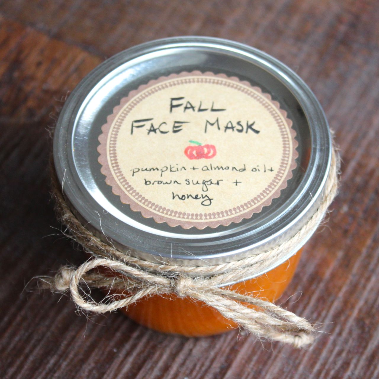 fall face mask