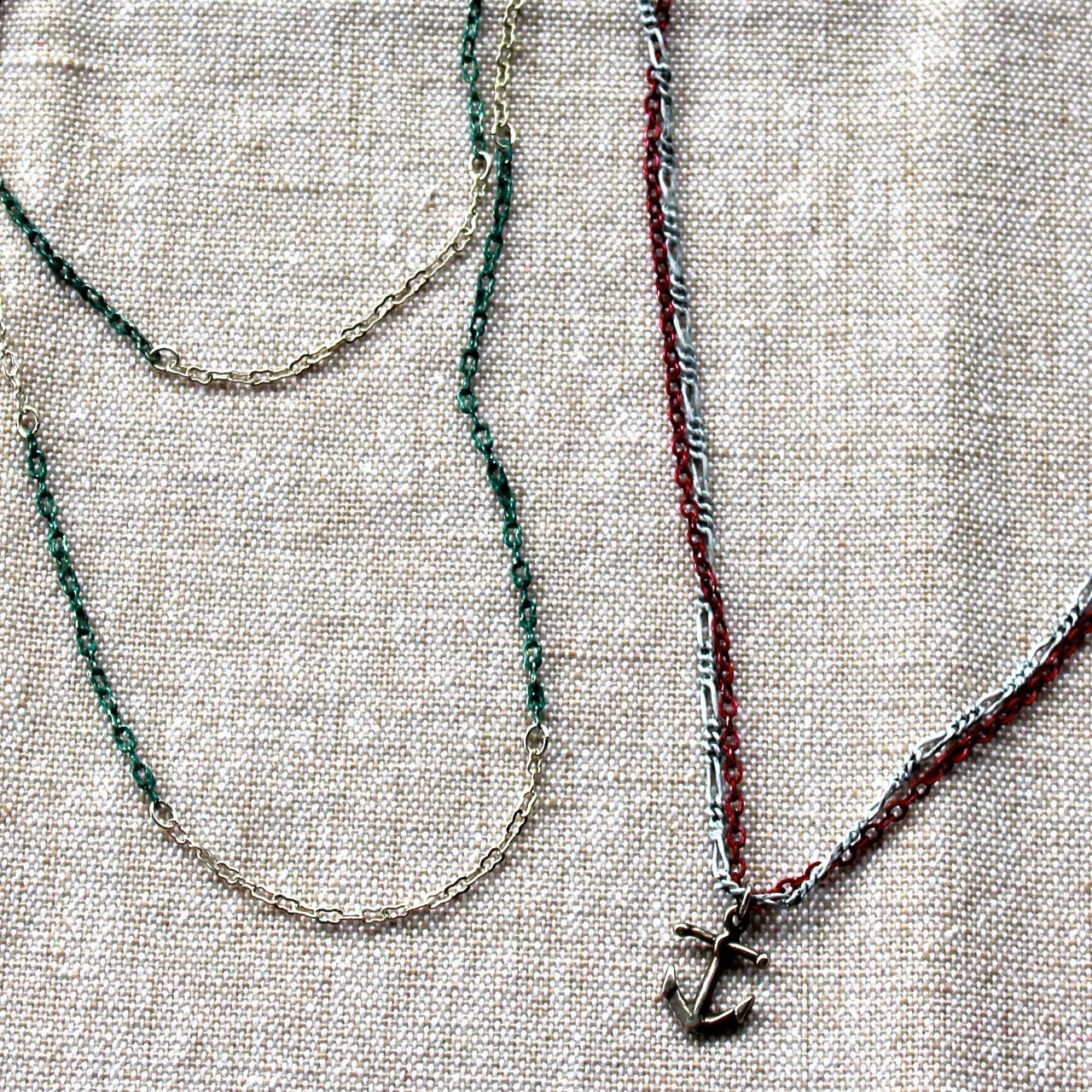Painted Chain Necklaces