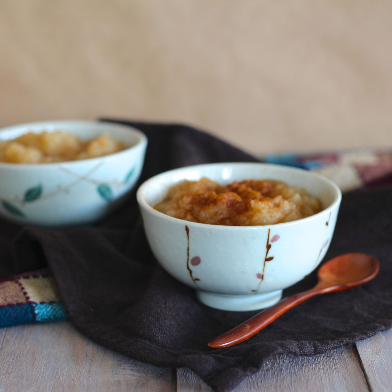 vanilla and cinnamon applesauce
