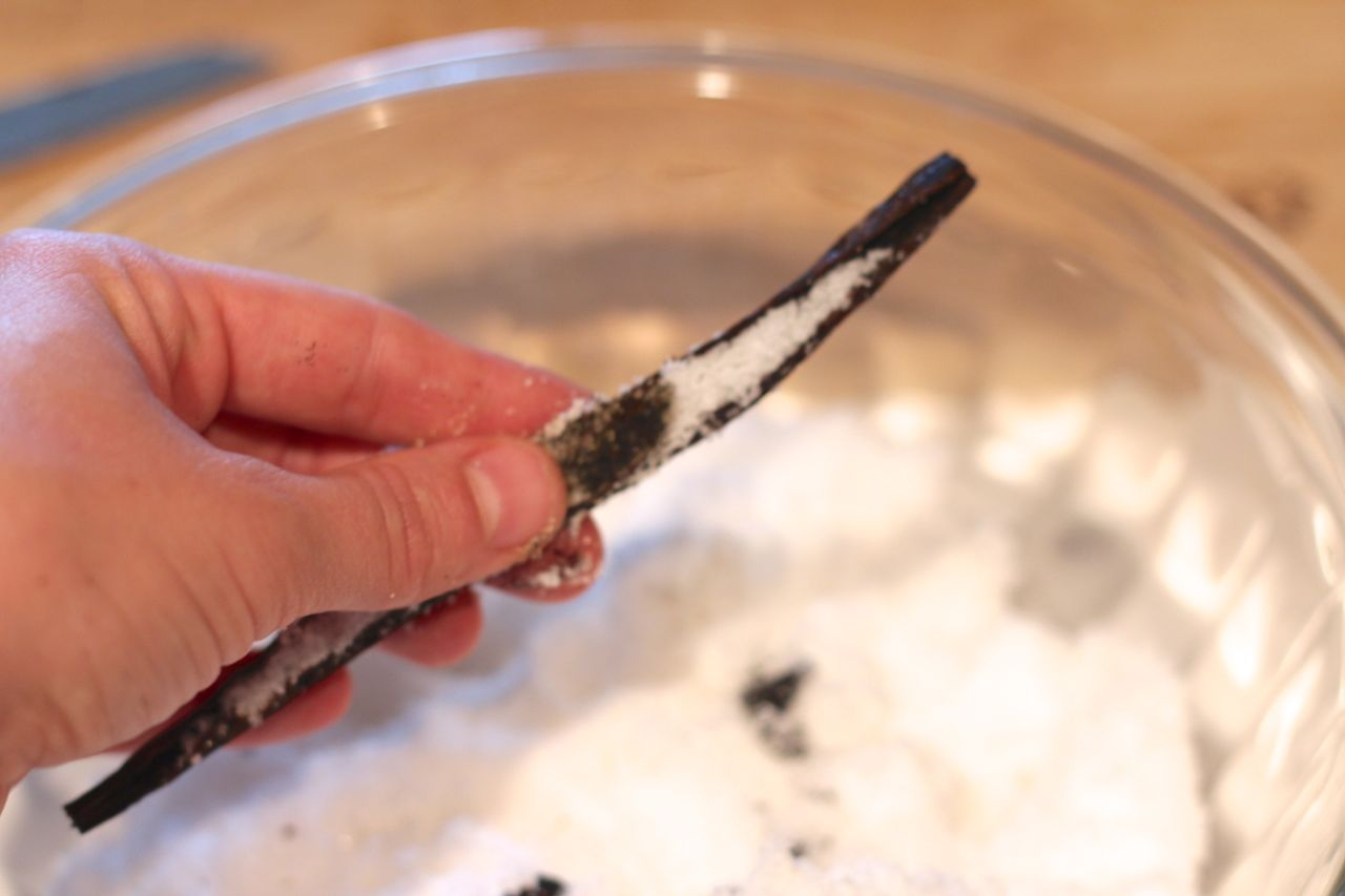 Make Your Own Vanilla Bean Sugar - Alyssa and Carla