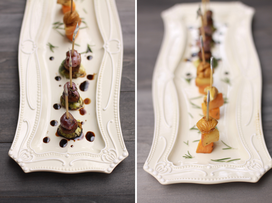 beautiful festive fall skewers from www.alyssaandcarla.com