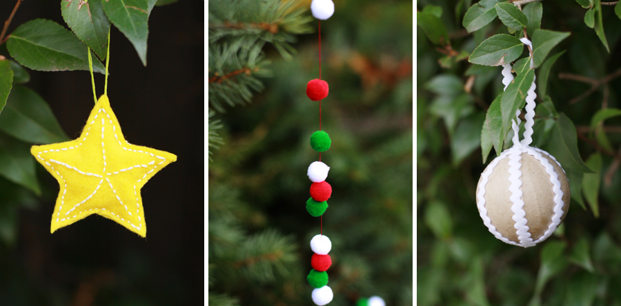 DIY Cozy Holiday Decorations from www.alyssaandcarla.com