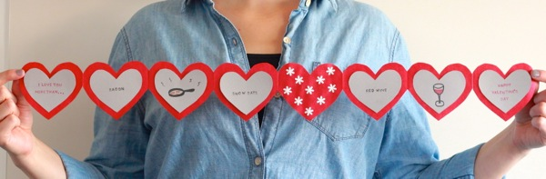 banner valentine from A&C