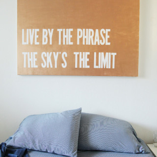 DIY Custom Quote Canvas from alyssaandcarla.com