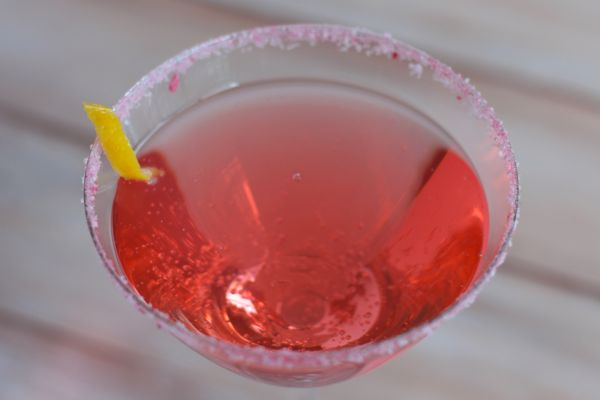 cherry blossom cocktail from www.alyssaandcarla.com