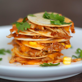 mini quesadillas with corn from www.alyssaandcarla.com