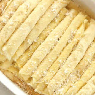 italian crepes, or scrapelle, from www.alyssaandcarla.com