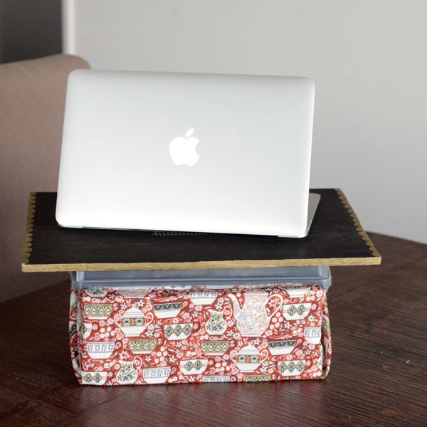 diy lap desk with storage from www.alyssaandcarla.com