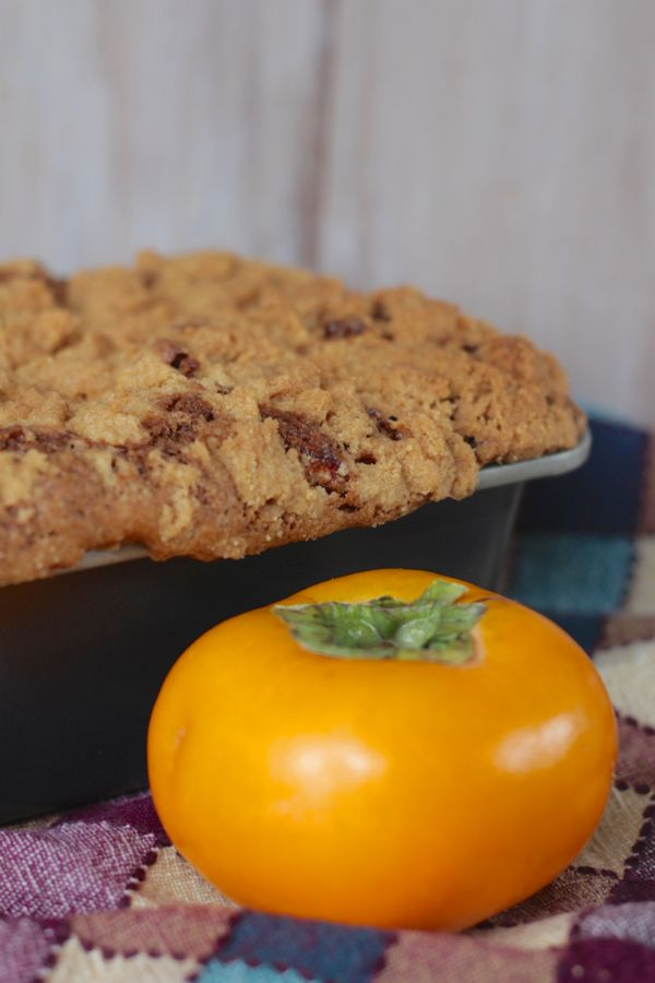 persimmon and chestnut bread from www.alyssaandcarla.com