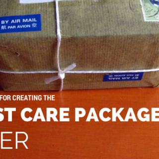 Five Tips for the Best Care Package Ever