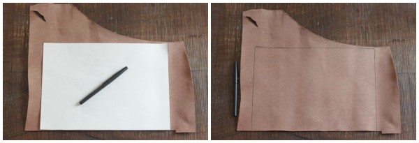 diy leather catchall step 1