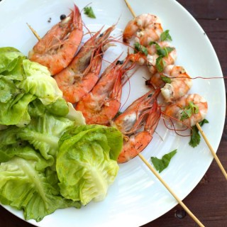 Island Shrimp from French Polynesia