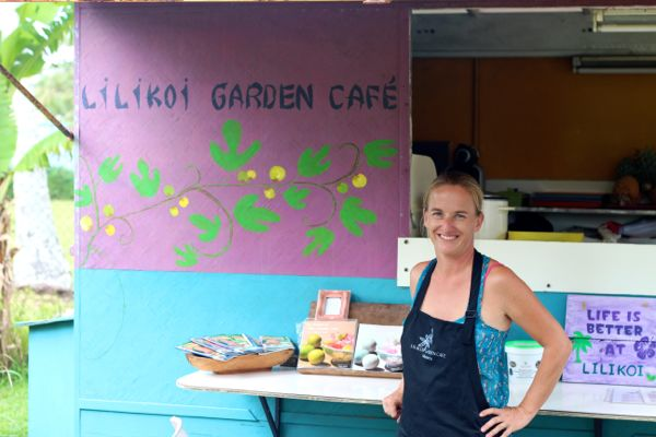 laurence of lilikoi garden cafe