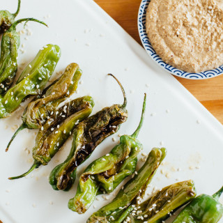 blistered-shishito-peppers-almond-soy-dipping-sauce-7