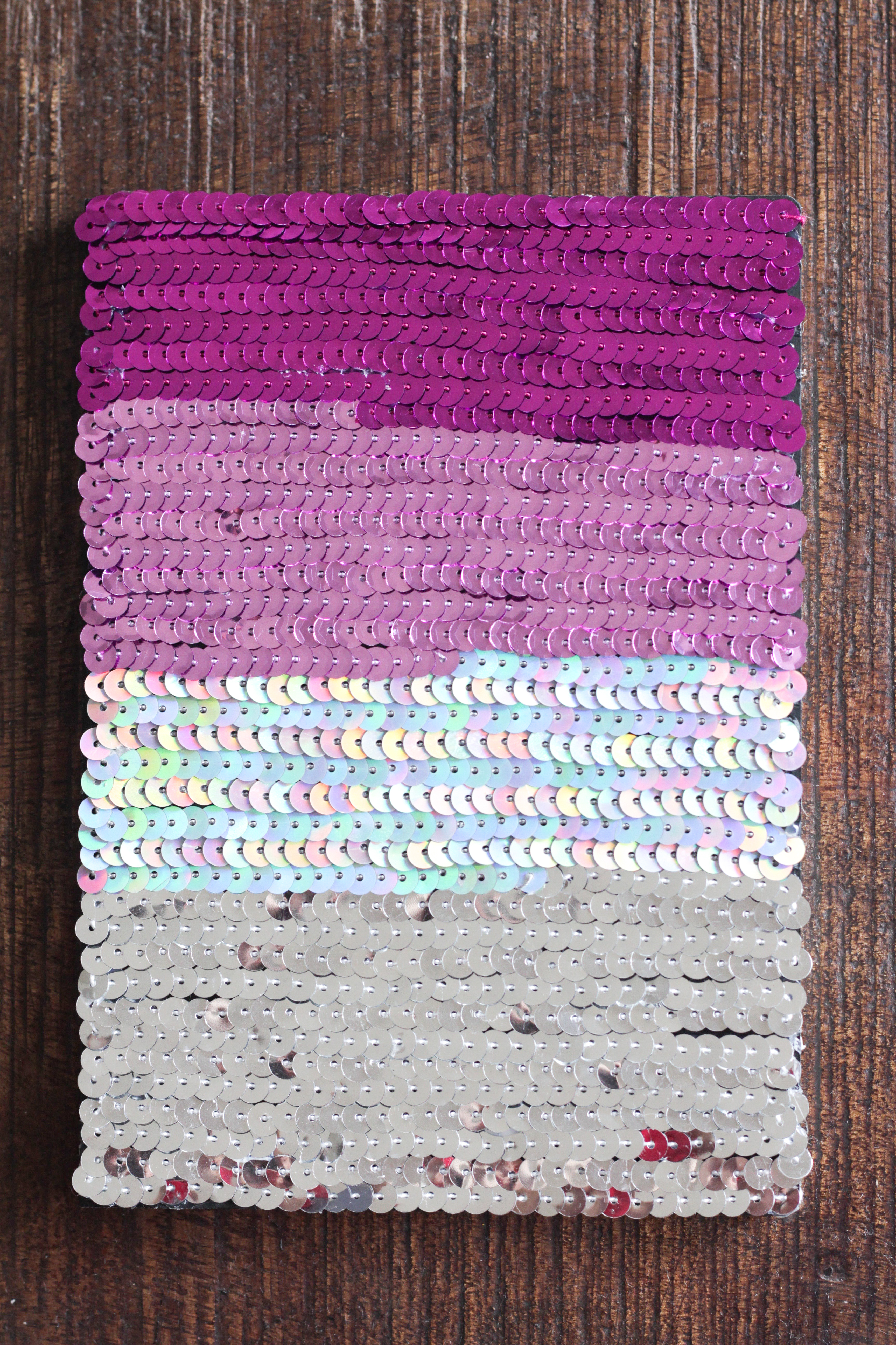 DIY Ombre Sequin Notebook | Alyssa & Carla-4