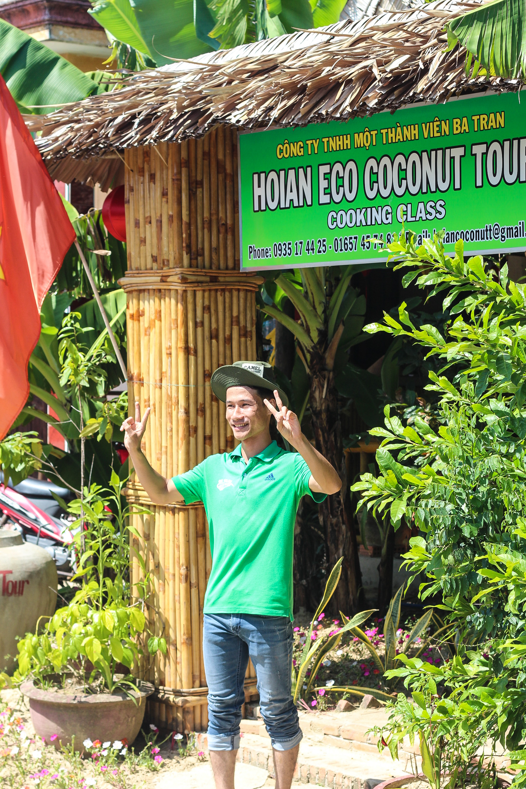 Hoi An Eco Coconut Tour | Alyssa & Carla