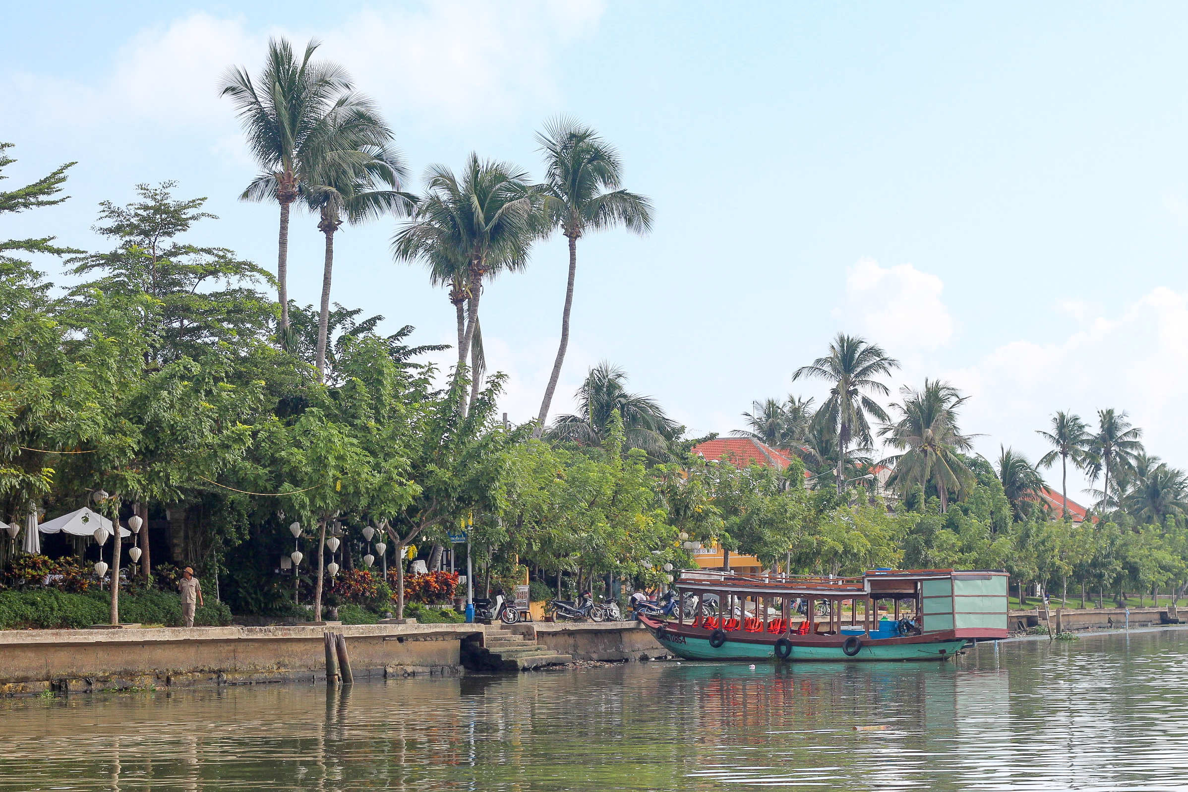 Hoi An Eco Coconut Tour - view from the river | Alyssa & Carla