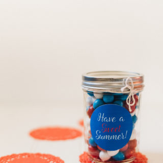 Have a Sweet Summer Mason Jar Gift (with Free Printable!)