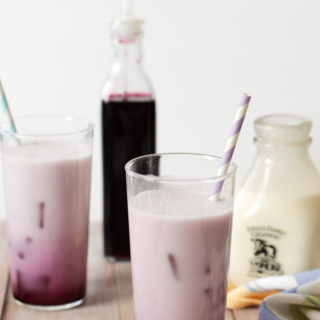Lavender Blueberry Cream Soda
