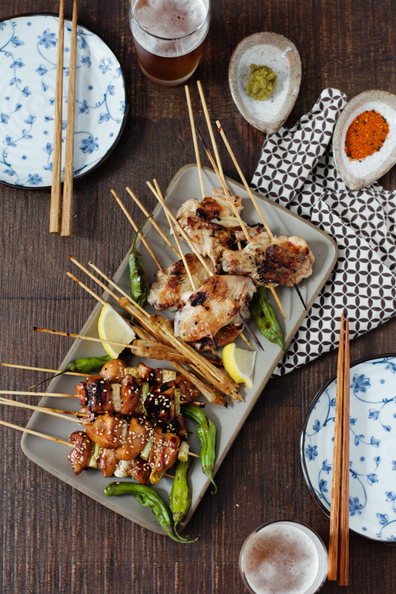 Japanese Grilled Chicken and Scallions | Alyssa & Carla