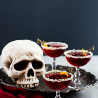 Sparkling Pomegranate Ginger Cocktail
