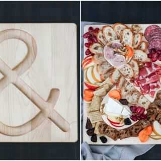 An Anniversary Cheese & Charcuterie Board