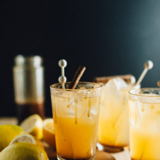 Spiced Honey and Citrus Cocktails with #MixedWithTrop