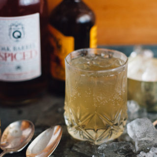 Spicy and Stormy: A Rum Cocktail