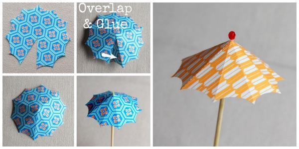 How to Make Paper Umbrellas - Easy Peasy and Fun | 300x600