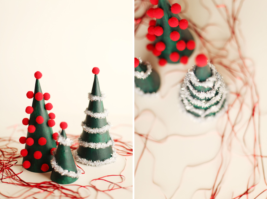 Modern Christmas Trees Decorated.Diy Modern Christmas Tree Decorations Alyssa And Carla